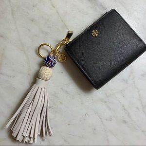Tory Burch Tassel Keychain